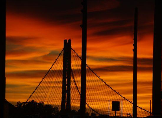 un pont de plus de 7kms