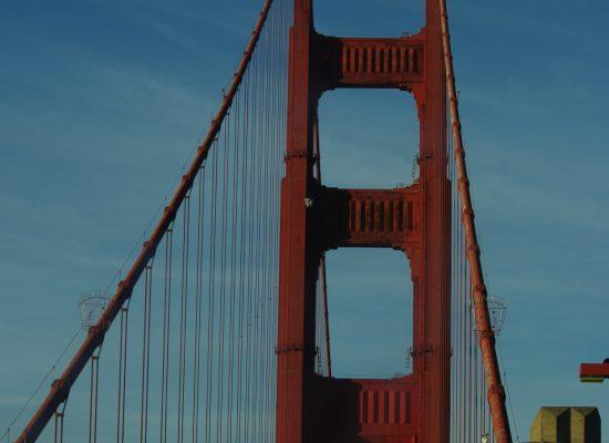 C'est parti sur le Golden Gate