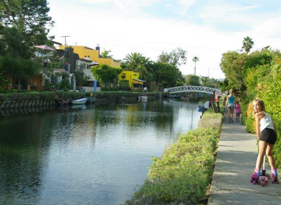 Venice Beach et ses canaux