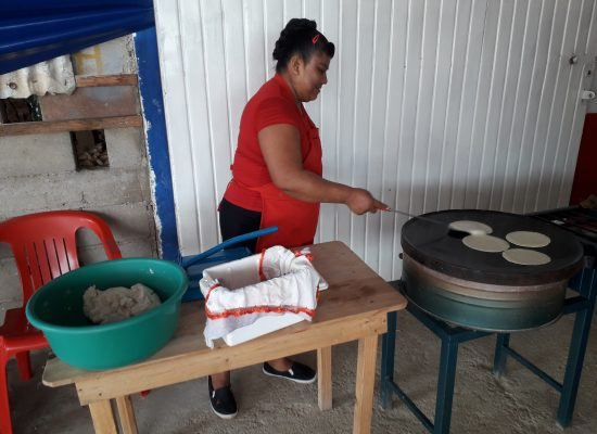 tortillas faits mains
