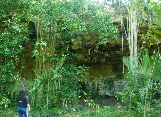 cenote sèche